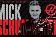 Formel 1, Offiziell: Mick Schumacher fährt 2021 für Haas