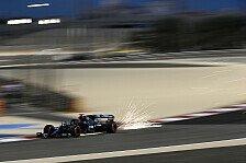 Formel 1 Bahrain, 1. Training: Russell mit Rekordrunde Erster
