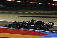 Formel 1 Bahrain, 2. Training: Russell wieder P1, Vettel kämpft