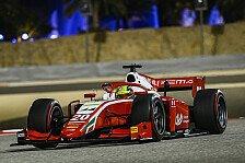 Formel 2: Schumacher nach P7 vor Titel, Tsunoda gewinnt