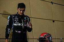 Formel 1 Bahrain: Russell schielt im Mercedes aufs erste Podium