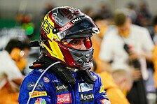 Formel 1, Sainz: Unter dem Helm kommt das Arschloch-Gen durch