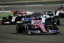 Formel 1, Bahrain: Perez gewinnt Chaos-GP, Mercedes wirft weg
