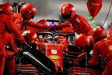 Formel 1, Vettel rügt Ferrari: Sogar beim Boxenstopp zu langsam