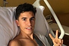 MotoGP: Marc Marquez droht vierte Operation am Oberarm