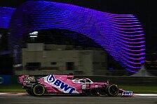 Formel 1 Abu Dhabi, Strafe ärgert Perez: Hätte Podium-Potential