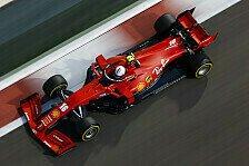 Formel 1 Abu Dhabi: Leclerc mit Vettel-Helm auf Angriff gepolt
