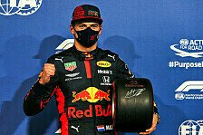 Formel 1: Verstappen eine Bank - Red Bull schwärmt nach Pole