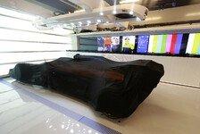 Formel 1 verschärft Regelkontrollen: Ein Auto wird hochgenommen