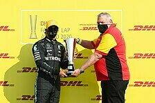 Formel 1 schneller denn je: DHL-Awards für Hamilton & Red Bull