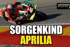 MotoGP - Video: MotoGP: Warum Aprilia Jahr für Jahr hinterherhinkt
