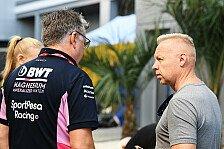 Formel 1, Streit um Force-India-Verkauf: Mazepin will Berufung