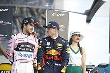 Formel 1, Perez als Spion: Red Bull hofft auf Mercedes-Knowhow