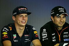Formel 1 Verstappen heizt Mercedes ein: Perez macht Unterschied