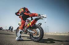 Dakar Rallye - Video: Dakar 2021: So lief die 1. Motorrad-Etappe