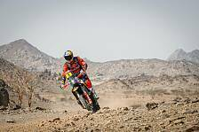 Dakar 2021: KTM gewinnt dank Toby Price 1. Etappe