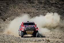 Dakar Rallye - Video: Dakar 2021: So lief die 4. Auto-Etappe