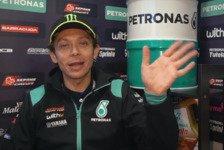 MotoGP: Valentino Rossi zeigt sich erstmals in Petronas-Farben