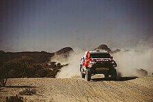 Dakar Rallye - Video: Dakar 2021: So lief die 2. Auto-Etappe