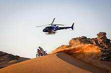 Dakar Rallye - Video: Dakar 2021: So lief die 2. Motorrad-Etappe