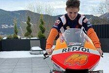 Pol Espargaro: Erstes Probesitzen auf der MotoGP-Honda