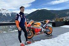 MotoGP: Pol Espargaros erste Begegnung mit der RC213V