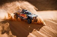 Dakar Rallye - Video: Dakar 2021: So lief die 3. Auto-Etappe