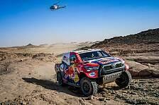 Dakar 2021: Al-Attiyah holt dritten Tagessieg in Folge