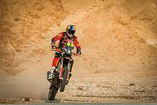 Dakar 2021: Toby Price bringt KTM wieder in Führung