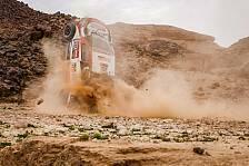 Rallye Dakar 2021 in Saudi Arabien - Unfall Henk Lategan