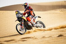 Rallye Dakar 2021: Honda steht trotz KTM-Aufholjagd vor Sieg