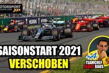 Formel 1 - Video: Neuer Rennkalender: Formel 1-Saisonstart 2021 verschoben