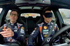 WRC - Video: WRC: Hyundai-Pilot Sordo fährt mit verbundenen Augen
