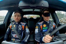 WRC - Video: WRC: Hyundai-Pilot Neuville fährt mit verbundenen Augen
