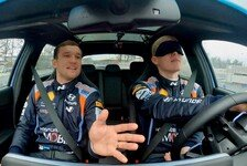 WRC - Video: WRC: Hyundai-Pilot Tänak fährt mit verbundenen Augen