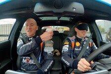 WRC - Video: WRC: Hyundai-Pilot Breen fährt mit verbundenen Augen