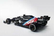 Formel 1, Renault-Nachfolger Alpine zeigt neue Lackierung