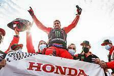 Rallye Dakar 2021: Honda verteidigt Titel - Benavides gewinnt