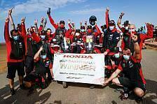 Dakar Rallye - Video: Dakar 2021: So lief die letzte Motorrad-Etappe