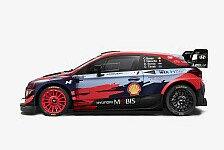 WRC 2021: Hyundai veröffentlicht Team- und Auto-Bilder
