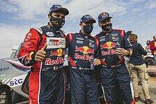 Dakar Rallye - Video: Dakar 2021: So lief die letzte Auto-Etappe