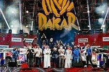 Rallye Dakar 2021 in Saudi Arabien - 12. Etappe & Podium