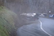 WRC - Video: WRC Rallye Monte-Carlo 2021: Abflug von Suninen auf WP1