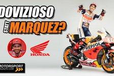 MotoGP - Video: MotoGP: Dovizioso statt Marquez bei Honda? So kann es klappen