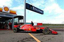 F1 - Ferrari-Test Fiorano, Tag 1: Alesi, Armstrong, Shwartzman