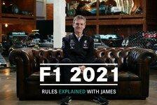Formel 1 - Video: Formel 1: Mercedes-Technikchef erklärt neue Regeln für 2021