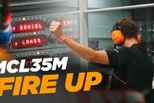 Formel 1 - Video: Formel 1 2021: McLaren startet erstmals den Mercedes-Motor