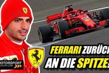 Formel 1 - Video: Formel 1, Ferrari: Kann Sainz gegen Leclerc bestehen?