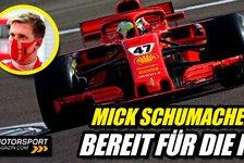 Formel 1 - Video: Mick Schumacher wieder im Ferrari: Bereit für die Formel 1 2021
