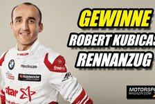 DTM - Video: Gewinnspiel: Robert Kubicas Original-DTM-Rennanzug
